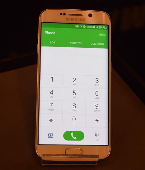 Samsung's Galaxy S6 material design