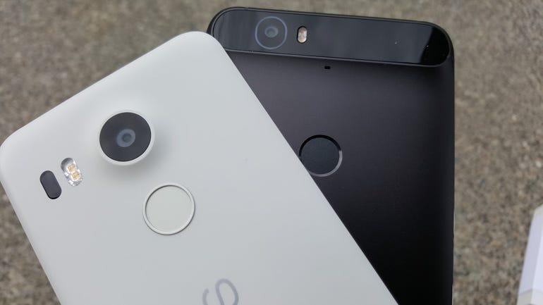 Nexus 5X on the Nexus 6P