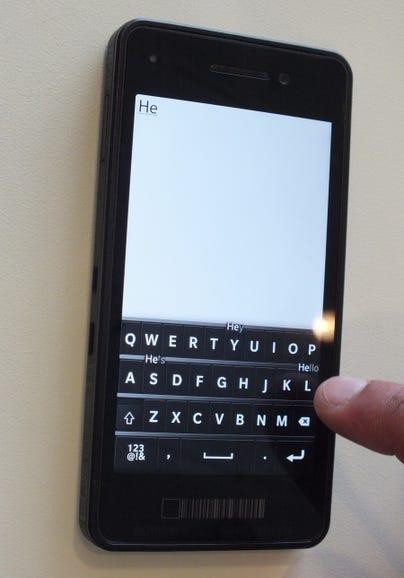 BlackBerry 10 intro