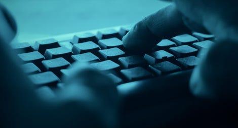 POV cyber hacker attacks