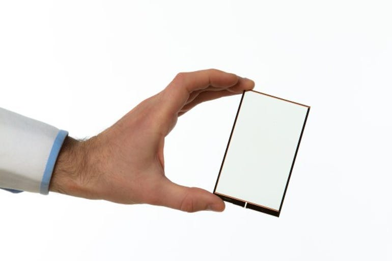 Transparent Wysips Crystal Technology screen