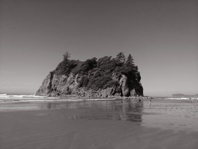 Mono shot at Ruby Bay