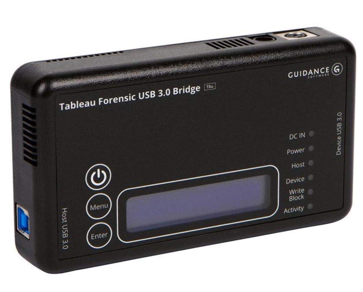 Tableau forensic bridge kit