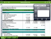 Image Gallery: Quickoffice HD spreadsheet work