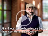 AI and jobs: Where humans are better than algorithms, and vice versa