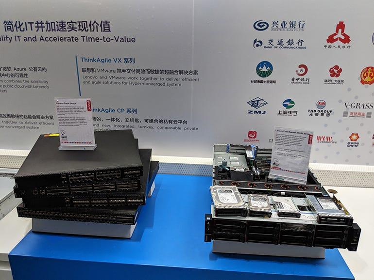 Rack Switch and ThinkSystem SR650 Server