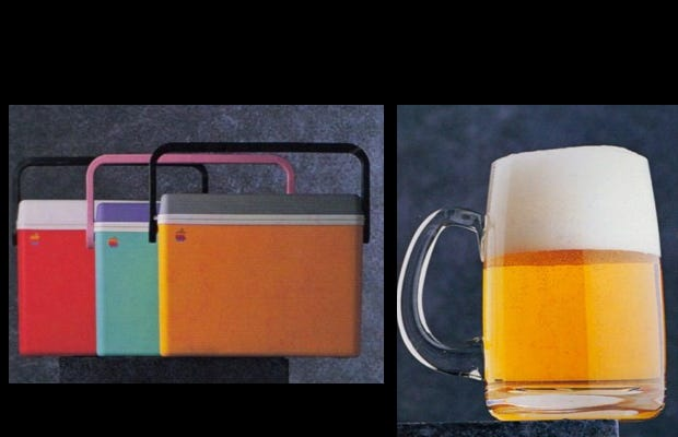Apple and beer?