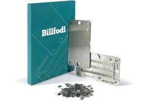 Billfold Steel Bitcoin Wallet