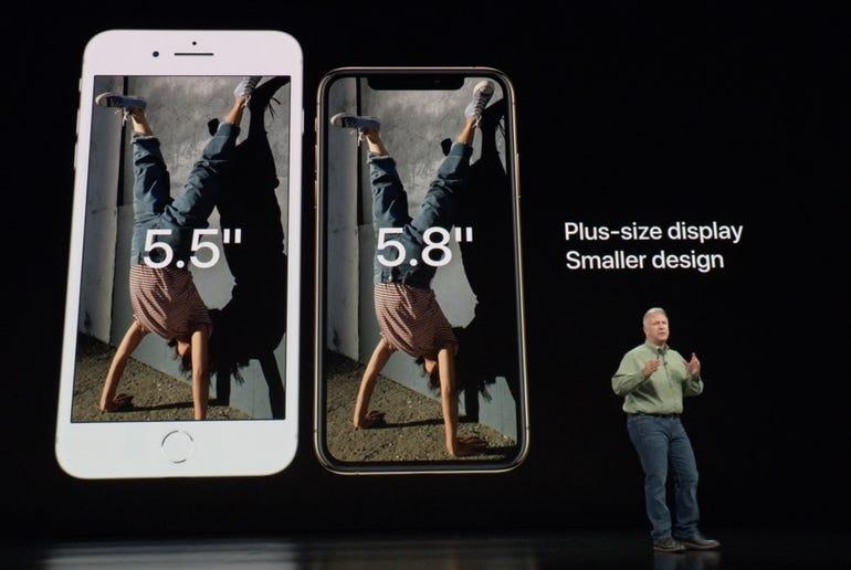 iPhone XS vs iPhone 8 Plus