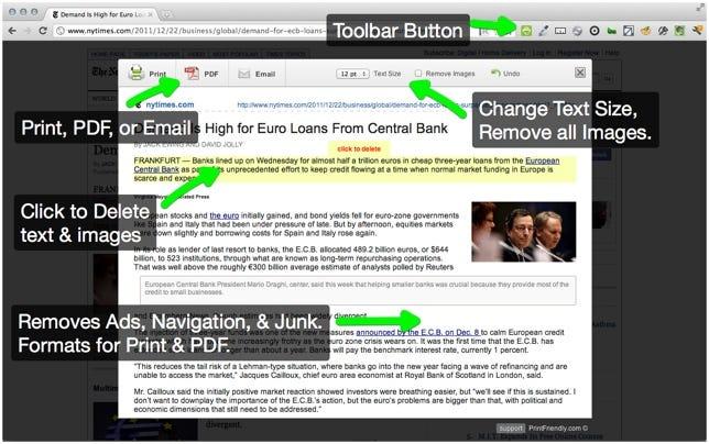 ExtensionPrint Friendly & PDF