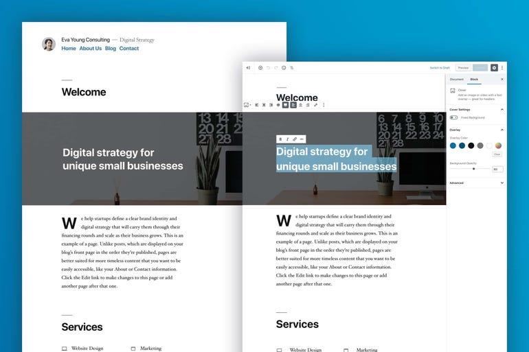 Twenty Nineteen, the new default theme for WordPress blogs everywhere