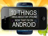 10 things I miss about my iPhone now that I'm on Android