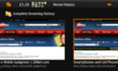 Image Gallery: Browsing history