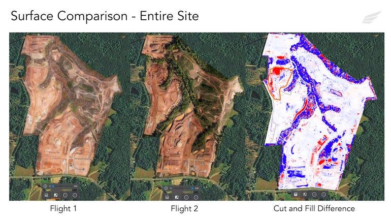 kespry drone site analysis