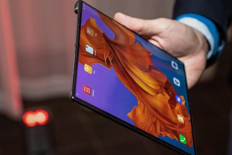 Huawei Mate X foldable phone