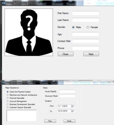 ApplicationPDF.exe interface