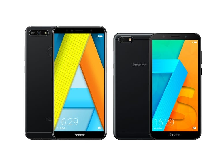 Honor 7A and Honor 7S
