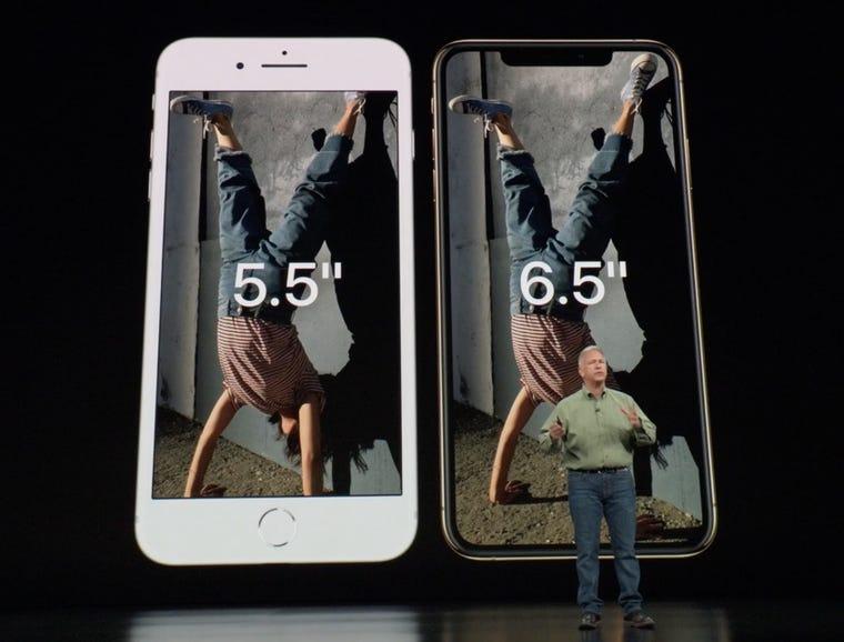 iPhone XS Max vs iPhone 8 Plus