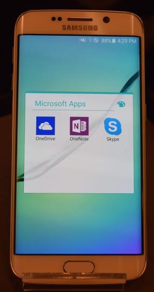 Samsung's Galaxy S6: The Microsoft bundle
