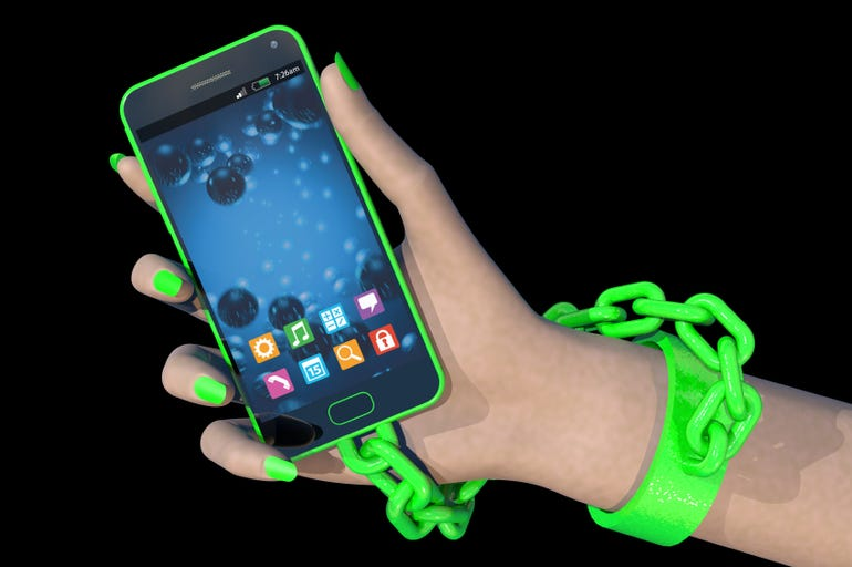 Are you tethered to your phone?