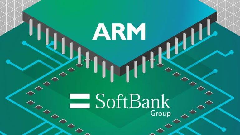 ARM and Softbank graphic