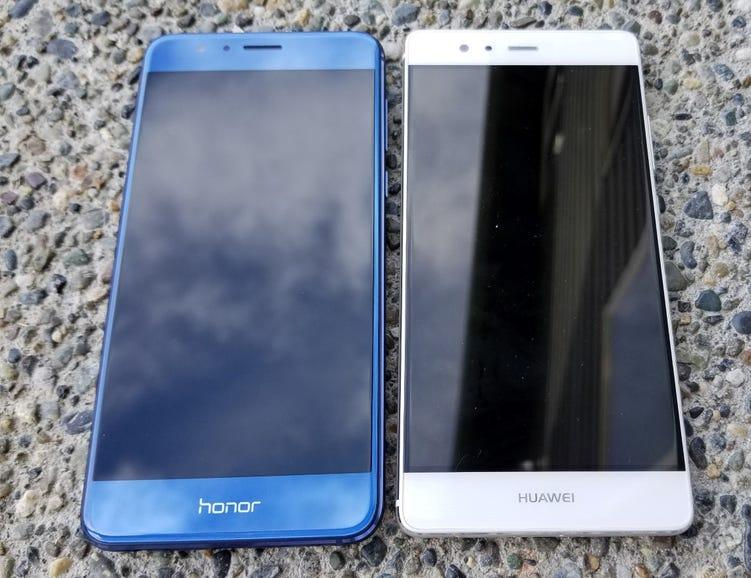 Honor 8 and Huawei P9