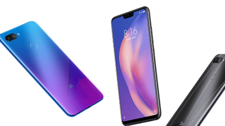 Hands on with the Xiaomi Mi 8 Lite: Some superb features and a fabulous interface zdnet