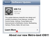 iOS 7: first impressions of the Metro-ized iOS
