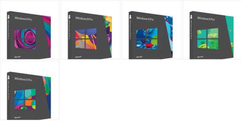 Windows 8 Box shots - MSFT