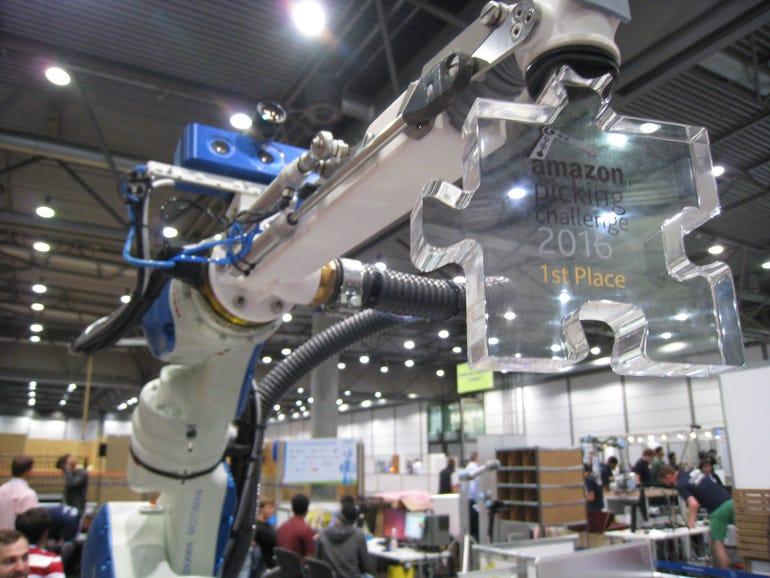 Delft Robotics, Amazon Picking Challenge