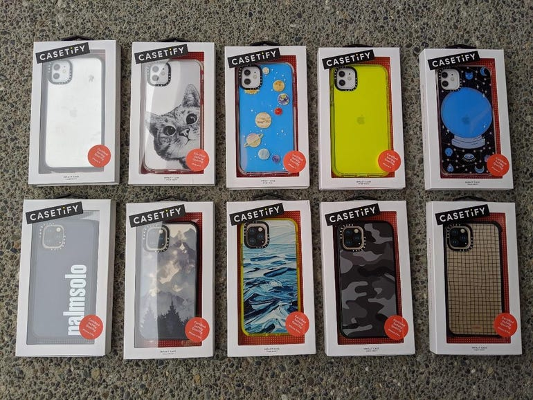 Casetify variations for the Apple iPhone 11 and 11 Pro