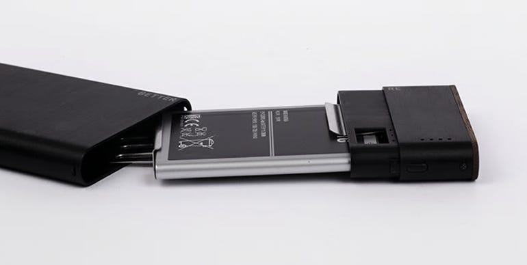 Better Re reuses old smartphone batteries to charge your new devices ZDNet