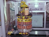 Wastewater treatment robot is fueled by human sewage
