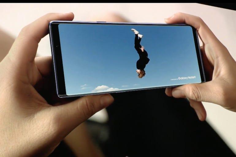 Galaxy Note 9: Cool video tricks