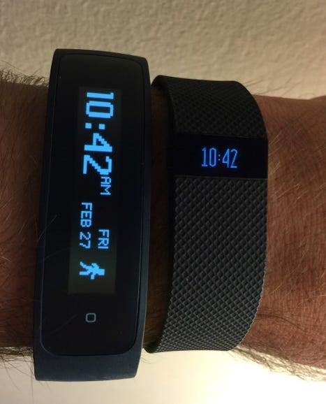HTC Grip and Fitbit Charge HR