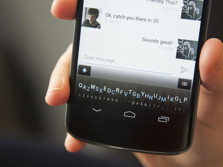 9. Don't put your virtual keyboard app's customer data on the internet