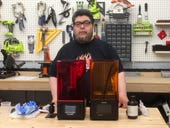 A first look at two SLA 3D printers (TL;DR: They're goopy)