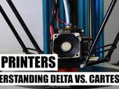 3D printing hands on: Understanding the difference between Delta and Cartesian printers