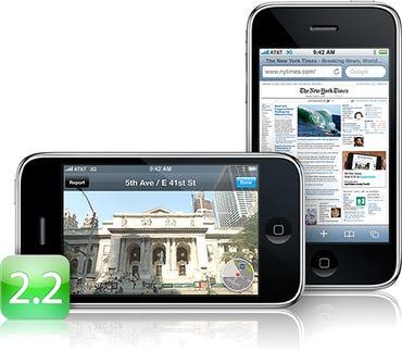iPhone 2.2 firmware released