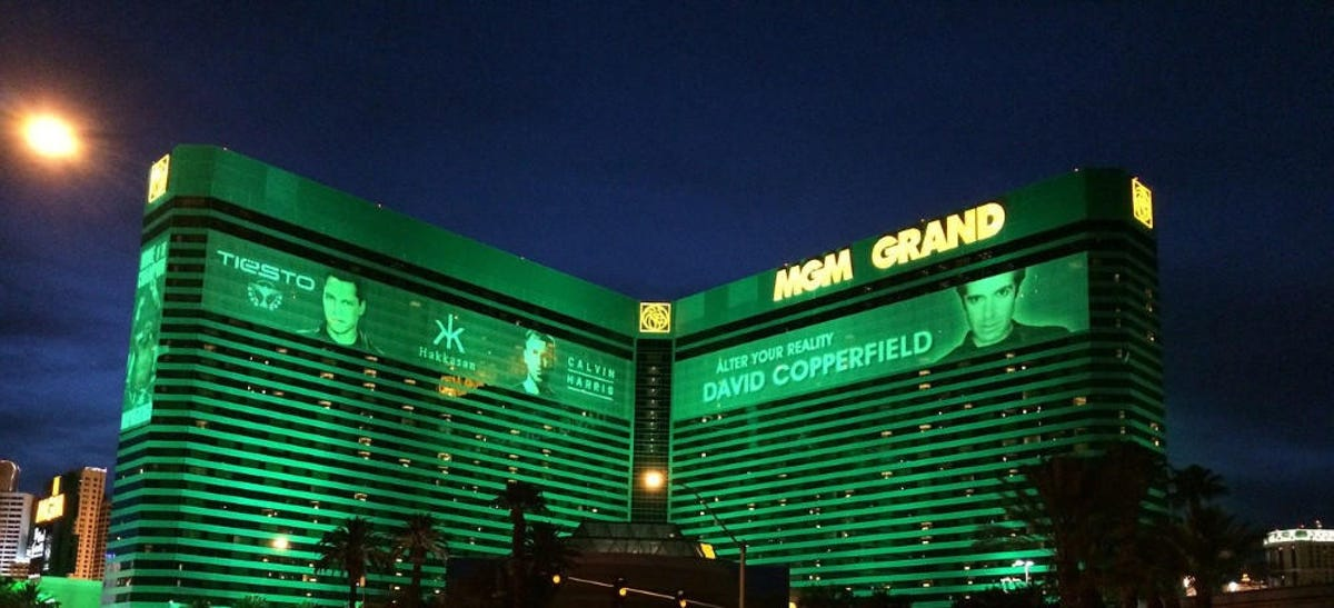How much does mgm grand make a day cost
