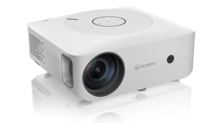 Vankyo Leisure 530W projector review 100 inch projection with screen included zdnet