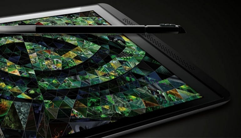 Another view of the Nvidia Tegra Note with Tegra 4 SoC