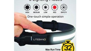 Liteband ACTIV 520 Wide-Beam LED Headlamp