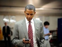 President Obama: Can't iPhone, won't iPhone
