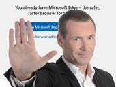 In latest Windows test builds, Microsoft discourages alternate browsers