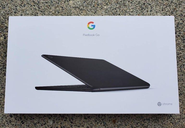 Google Pixelbook Go retail package