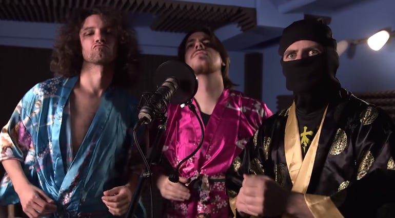 Starbomb rises to top of niche comedy music market via YouTube ZDNet