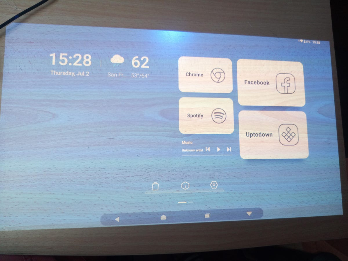 Hands on with the Hachi Infinite projector turn flat surfaces into interactive displays zdnet
