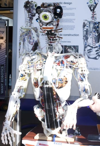 Embodied Cognition in a Compliantly Engineered (ECCE) robot