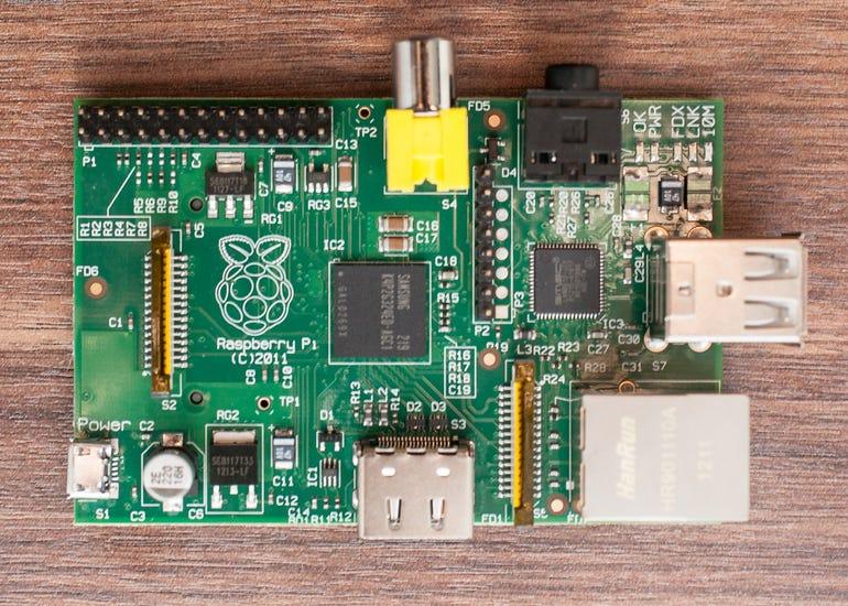 Photos of the Raspberry Pi through the ages